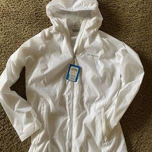 Columbia Hooded Rain Jacket